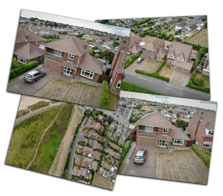 Drone photography for Estate Agents Kent