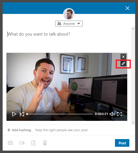 How To Add Subtitles To A LinkedIn Video
