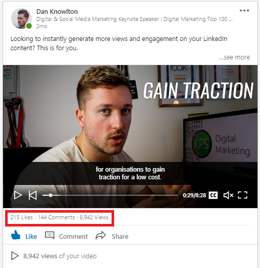 LinkedIn Content Example 2